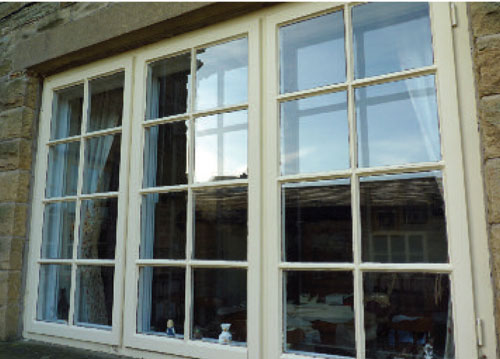 Clearview Secondary Glazing is unobtrusive inside and out; perfect in period property.