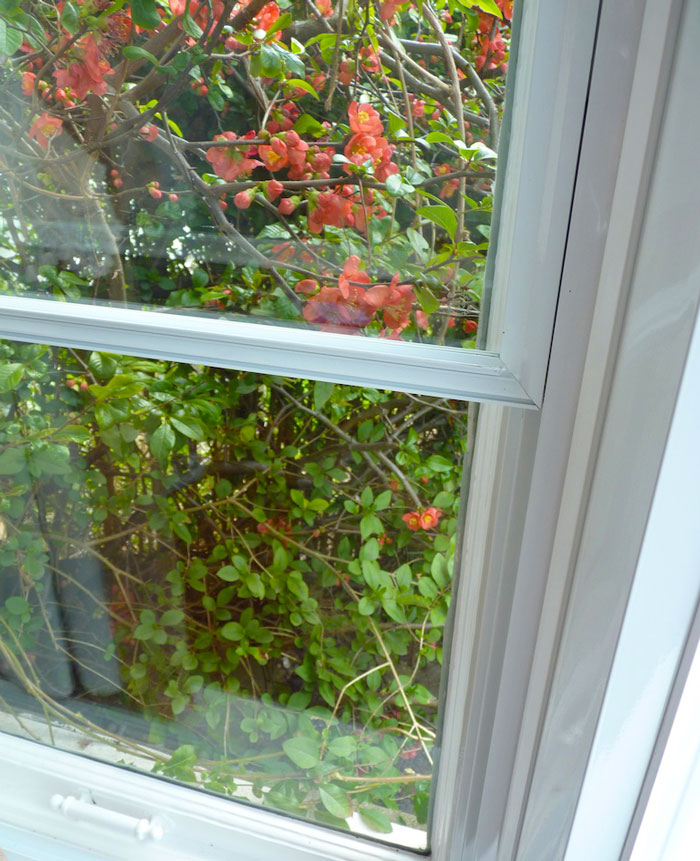 Clearview secondary glazing fitted easy units to the sides of the bay window