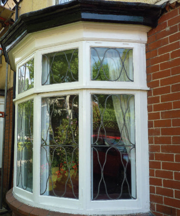 Almost invisible inside and outside, Clearview's secondary glazing takes nothing away from a beautiful period window.