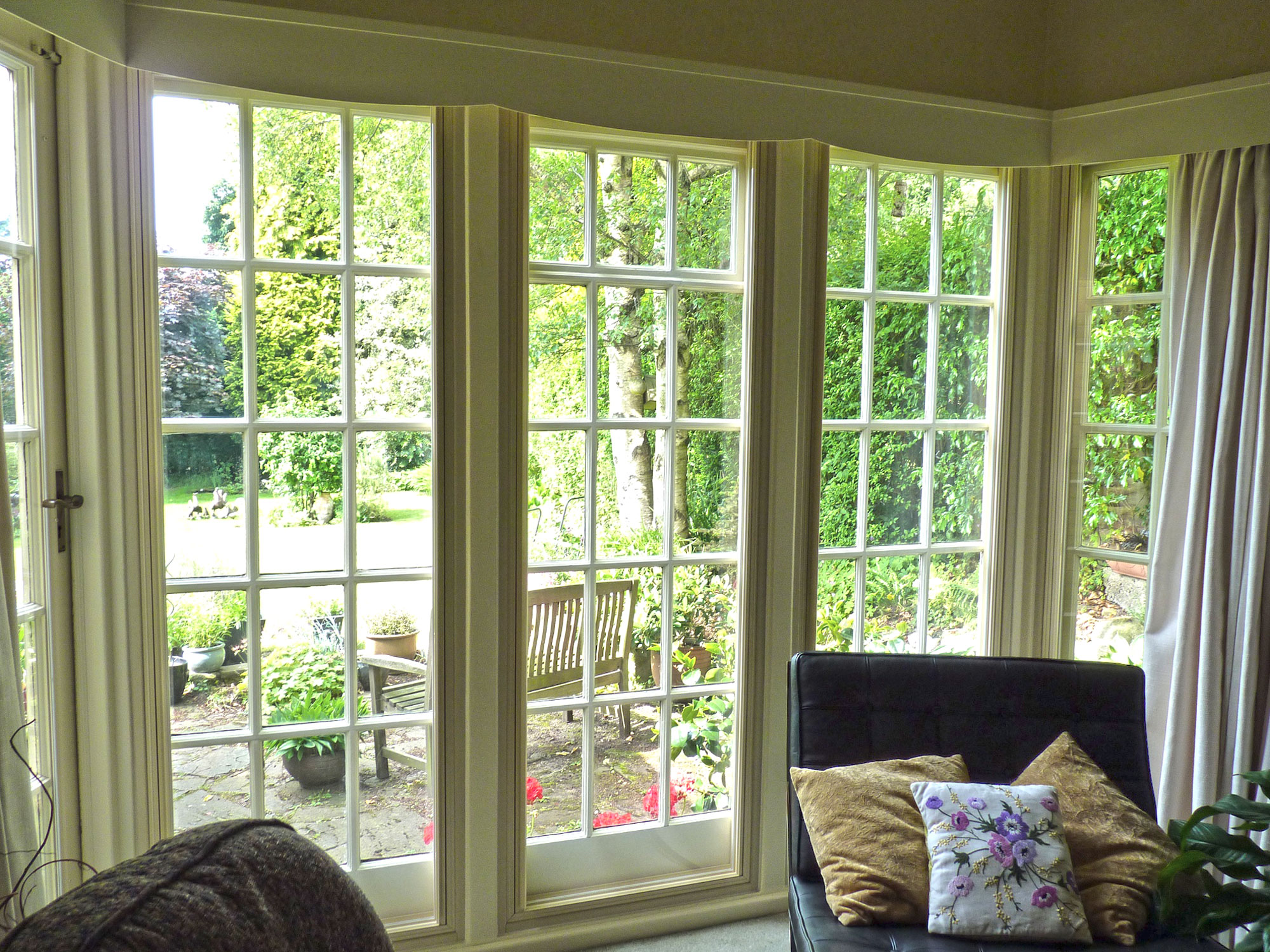 A room with a clear view clearview secondary glazing for French window