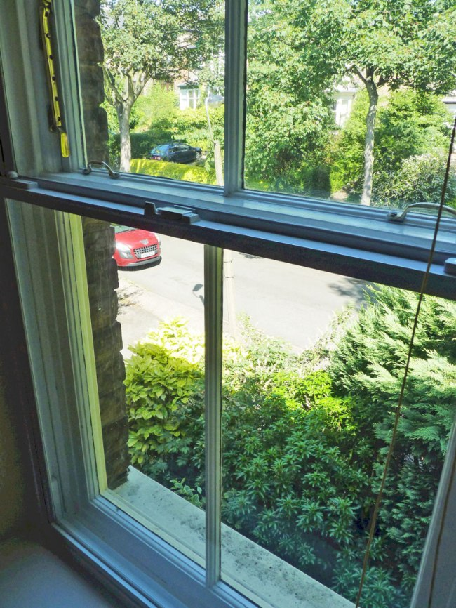 Street noise is radically reduced when Clearview secondary glazing is installed