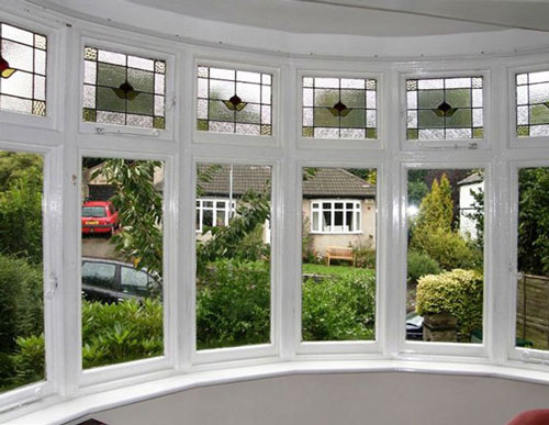 Clearview secondary glazing so good you can barely see for Curved bay window