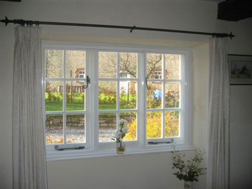 A Clearview secondary glazed window.