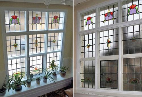 Georgian windows clearview secondary glazing for 1920s window