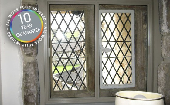 Secondary glazing for period property