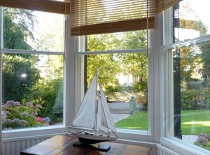 This Victorian sitting room window no longer drips condensation.