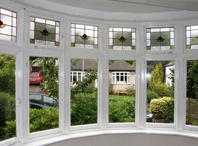 One of the best reasons to fit secondary glazing it 39 s for Curved bay window