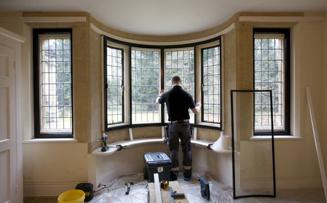 Double glazing clearview secondary glazing for Curved bay window
