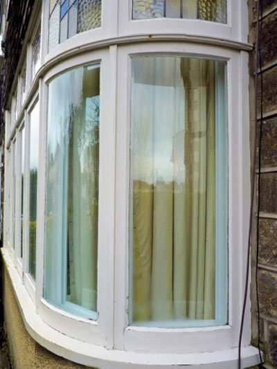 Double glazing clearview secondary glazing for Curved windows