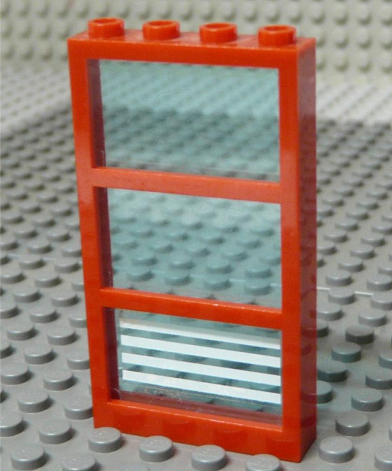 We don't recommend secondary glazing Lego.
