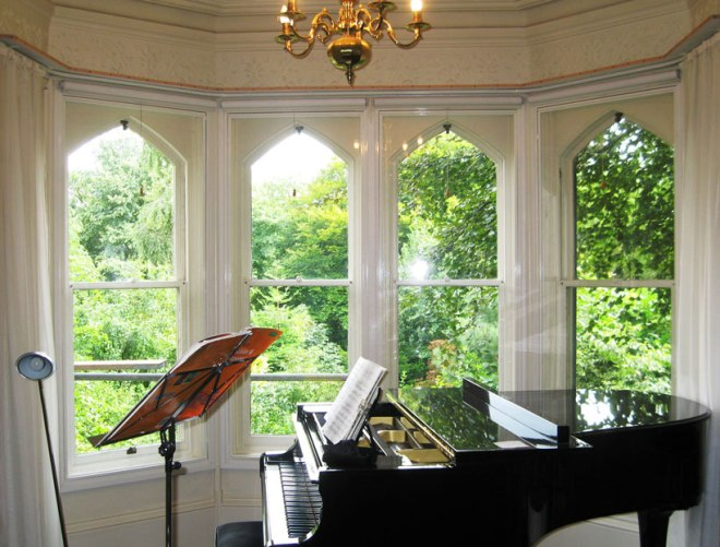 Secondary glazing can really help acoustics.