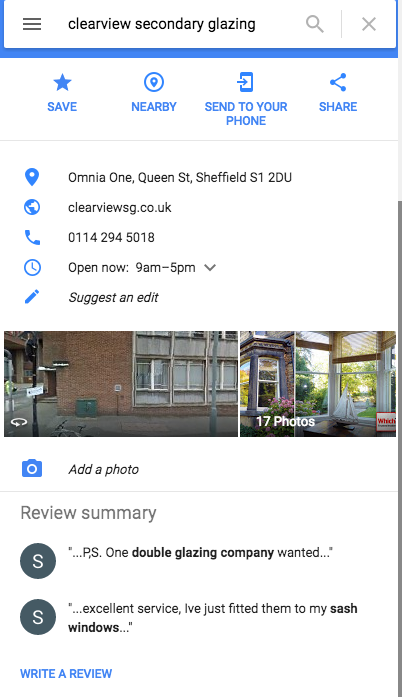 How to Leave a Google Places Review